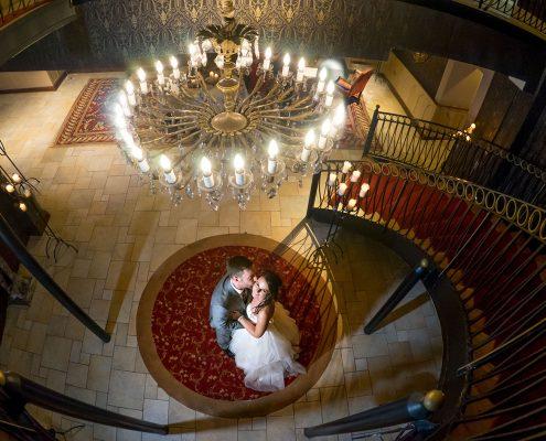 Wedding in Fitzpatrick Castle Hotel
